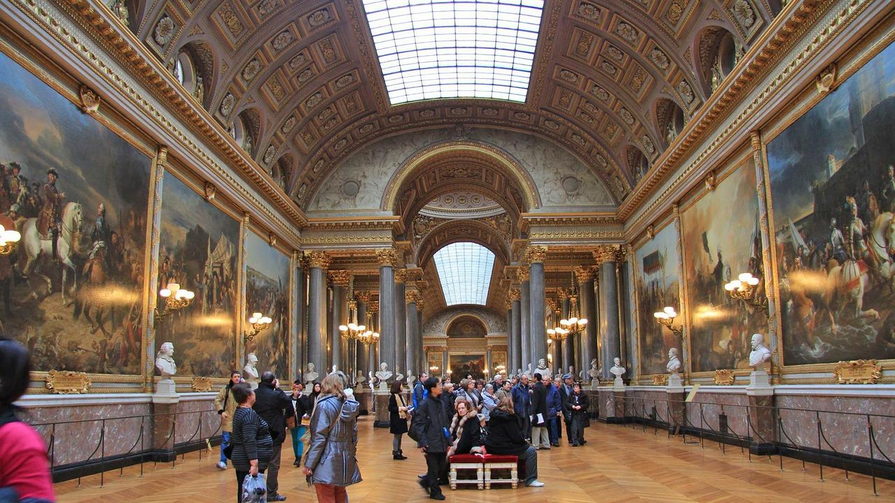 Versailles inside visit