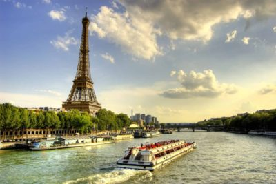 Eiffel Tower lunch & Seine cruise