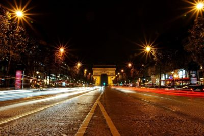 Paris night tour