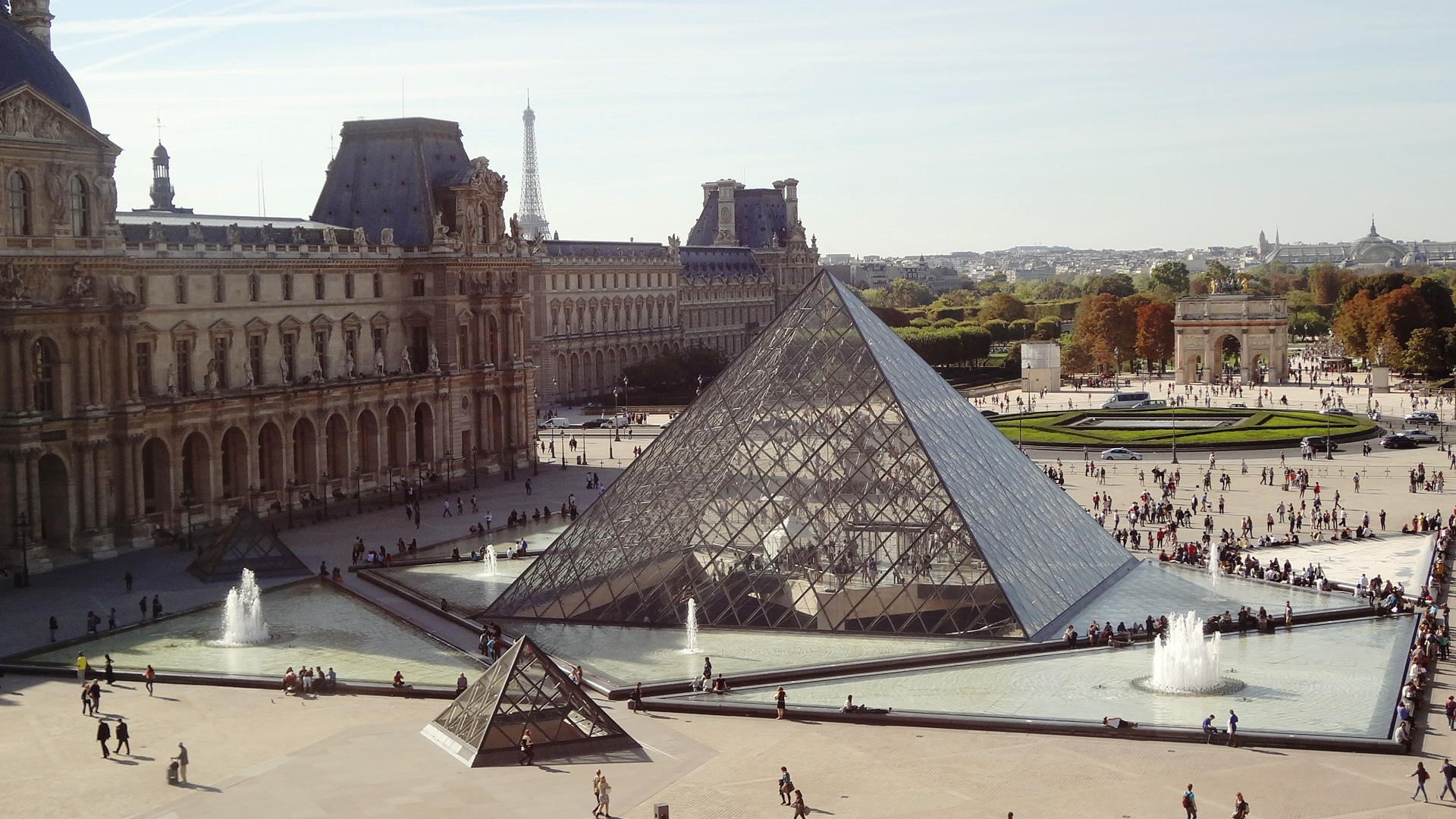 Guided Louvre tour